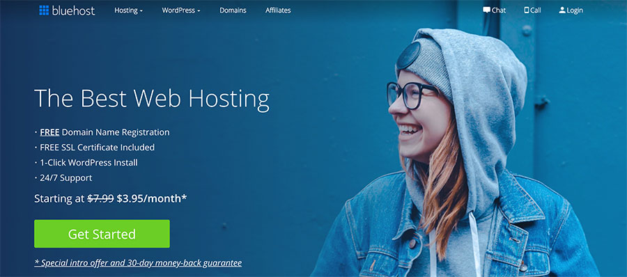 Bluehost Discout Plan
