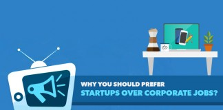 Prefer Startups Over Corporate Jobs