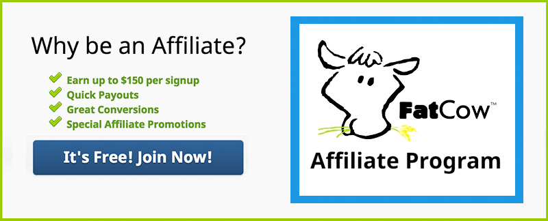 Image result for fatcow affiliate