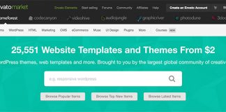 ThemeForest- Best place to buy quality themes and earn through affiliate programs