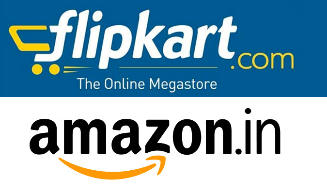 Battle between E-commerce Giants - Amazon India vs. Flipkart