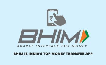 BHIM is India's Top Money Transfer App