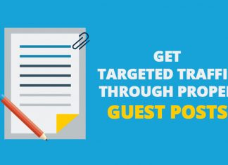 Get Targeted Traffic through Proper Guest Posts